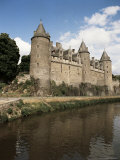 Josselin Castle, Bretagne (Brittany), France Photographic Print by  R H Productions