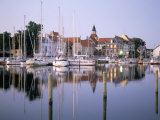Faborg Harbour, Island of Funen, Denmark, Scandinavia Photographic Print by Adam Woolfitt