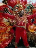 Carnival, Trinidad, West Indies, Caribbean, Central America Photographic Print by Adam Woolfitt