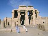 The Temple at Kom Ombo, Egypt, North Africa, Africa Photographic Print by Ken Wilson