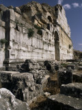 Details of Carvings, Miletus, Anatolia, Turkey, Eurasia Photographic Print by Adam Woolfitt