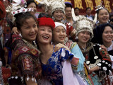 Opening of China National Costume Exhibition, Kunming, Yunnan, China Photographic Print by Occidor Ltd