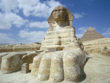 The Sphinx, Giza, Unesco World Heritage Site, Cairo, Egypt, North Africa, Africa Photographic Print by Adam Woolfitt