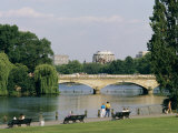 Hyde Park and the Serpentine, London, England, United Kingdom Photographic Print by Adam Woolfitt