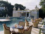 The Swimming Pool, Udai Bilas Palace, Dungarpur, Rajasthan State, India Photographic Print by John Henry Claude Wilson