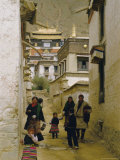 Tashilhunpo Monastery, Xigaze Town, Tibet, China Photographic Print by Occidor Ltd
