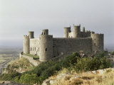 Harlech Castle, Unesco World Heritage Site, Gwynedd, Wales, United Kingdom Photographic Print by  R H Productions