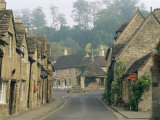 Castle Combe, by Brook Valley, Wiltshire, England, United Kingdom Photographic Print by Adam Woolfitt