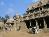 Shore Temple, Mahabalipuram, Unesco World Heritage Site, Chennai, Tamil Nadu, India Photographic Print by Occidor Ltd