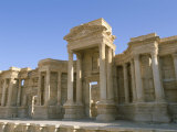 Theatre, Archaeological Site, Palmyra, Unesco World Heritage Site, Syria, Middle East Photographic Print by Alison Wright