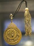 Astrolabe 890/1485-6, Awhad Muhammad Iran, John Addis Gallery, British Museum, London, England Photographic Print by Adam Woolfitt