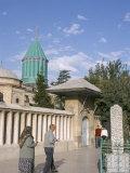 Meylana (Mevlana) Museum, Rumi's Grave, Konya, Anatolia, Turkey Photographic Print by Alison Wright
