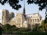 Cathedral of Notre Dame, Paris, France Fotografie-Druck von Adam Woolfitt