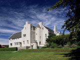 Hill House, Built 1902-1904 by Charles Rennie Mackintosh, Helensburgh, Scotland Fotoprint van Adam Woolfitt