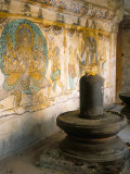 Shiva Lingam in 10th Century Temple of Sri Brihadeswara, Thanjavur, India Photographic Print by Occidor Ltd