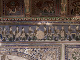 Detail of the Fine Plaster Work in the Sheesh Mahal, Samode Palace Hotel, Samode, India Photographic Print by John Henry Claude Wilson