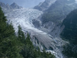 d'Arpette Glacier, Le Peuty Tmb, Switzerland Photographic Print by Loraine Wilson