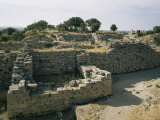 Ancient Ruins, Troy, Unesco World Heritage Site, Anatolia, Turkey, Eurasia Photographic Print by Ken Wilson
