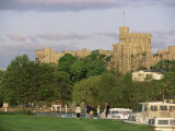 Windsor Castle from Eton Meadows Across the River Thames, Windsor, Berkshire, England Photographic Print by Adam Woolfitt