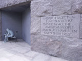 Franklin D. Roosevelt (F.D.R.) Memorial, Washington D.C., USA Photographic Print by Alison Wright