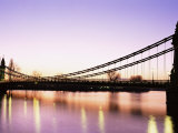 Hammersmith Bridge, London, England, United Kingdom Photographic Print by Nick Wood