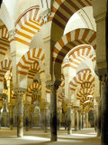 Mezquita-catedral de Córdoba, Patrimonio de la Humanidad, Córdoba, Andalucía, España Lámina fotográfica por Adam Woolfitt