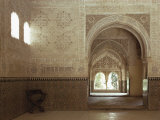Hall of Two Sisters, Alhambra, Unesco World Heritage Site, Granada, Andalucia, Spain Photographic Print by Adam Woolfitt