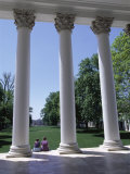 The Rotunda Designed by Thomas Jefferson, University of Virginia, Virginia, USA Photographic Print by Alison Wright