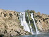 Waterfalls, Antalya, Anatolia, Turkey Photographic Print by Alison Wright