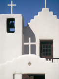 Christian Church, Taos Pueblo, New Mexico, USA Fotografie-Druck von Adam Woolfitt