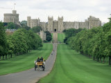 The Long Walk and Windsor Castle, Windsor, Berkshire, England, United Kingdom Photographic Print by Adam Woolfitt