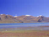 Yamdrok Lake, Central Area, Tibet, China Photographic Print by Alison Wright