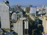 Modern Central Business District, Kunming, Yunnan Province, China Photographic Print by  Occidor Ltd