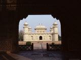The Tomb of Itmad Ud Daulah (Itimad-Ud-Daulah), Agra, Uttar Pradesh State, India Photographic Print by John Henry Claude Wilson