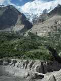 The Hunza Valley Near Karimabad, Pakistan Photographic Print by  Occidor Ltd