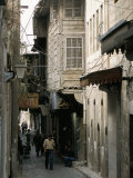 Narrow Street in the Armenian Area of Aleppo, Syria, Middle East Photographic Print by Alison Wright