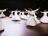 Taken at the Royal Albert Hall, London, the Whirling Dervishes of Konya, Turkey, Eurasia Photographic Print by Adam Woolfitt