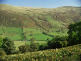 Troutbeck, from Garburn Pass, Lake District National Park, Cumbria, England, United Kingdom Photographie par Loraine Wilson