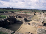 Roman City, Wroxeter, Shropshire, England, United Kingdom Photographic Print by Loraine Wilson
