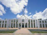 Parliament House, Capital Hill, Canberra, A.C.T. (Australian Capital Territory), Australia Photographic Print by Ken Wilson