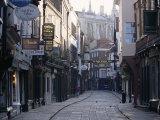 Stonegate, York, Yorkshire, England, United Kingdom Photographic Print by Adam Woolfitt