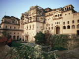Exterior View, Neemrana Fort Palace Hotel, Neemrana, Rajasthan State, India Photographic Print by John Henry Claude Wilson