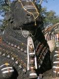 Nandi Bull Statue, Chamundi Hills, Karnataka, India Photographic Print by  Occidor Ltd