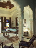 Bedroom Suite, Neemrana Fort Palace Hotel, Neemrana, Rajasthan State, India Photographic Print by John Henry Claude Wilson
