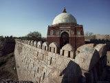 Ramparts Around Tughlaq Tombs, Delhi, India Photographic Print by Adam Woolfitt