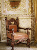 An Original Chair Used at the Coronation of King George the Fifth in 1911, Sirohi, India Photographic Print by John Henry Claude Wilson