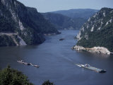 Iron Gates Area of the River Danube (Dunav), Serbia Fotografie-Druck von Adam Woolfitt