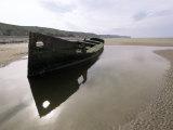 Omaha Beach, Basse Normandie (Normandy), France Photographie par Adam Woolfitt