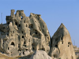 Houses in Rock Formations, Cappadocia, Anatolia, Turkey Photographic Print by Alison Wright