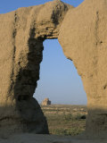Maidens Castle Dating from 6th and 7th Centuries, Merv, Turkmenistan, Central Asia Photographic Print by  Occidor Ltd